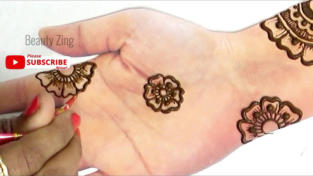 Step By Step Mehndi Designs For Beginners Archives Beautyzing,Tribal Upper Arm Half Sleeve Tattoo Designs